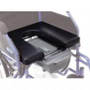 kit trasformazione in comoda seduta rigida con wc per carrozzine serie