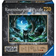 Ravensburger 164349 Exit Puzzle: Farkas, 759 darabos