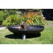 """RedFire Vatră de foc """"Salo"""" din oțel, 80 cm, negru, 81020"""