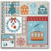 Lunchservet 33x33 pakje 20 st Winter Holiday