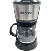 euroline EL-1106 6 Cups Coffee Maker(Black)