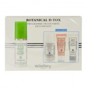 Sisley Botanical D-Tox Night Treatment confezione regalo Botanical D-Tox 30 ml + Eau Efficace Gentle Make-Up Remover 30 ml + Radiant Glow Express maschera 10 ml + Global Perfect Pore Minimizer 10 ml donna