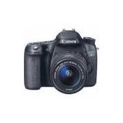 Camera Canon 70D c/ 18-55 Preta
