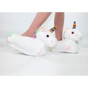 Papuci Unicorn cu LED uri