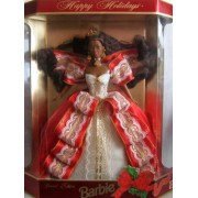 Happy Holidays 1997 Special Edition Barbie African-american 10th Anniversary