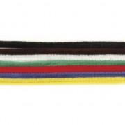 Rayher hobby materialen Chenilledraad diverse kleuren 50 cm 10 st