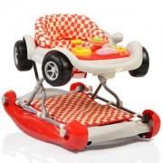 Бебешка проходилка Car, Cangaroo, червена, 356283