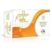 Omegor kids tutti frutti 60 capsule 60cps integratore alimentare di omega-3 dha e vitamina d3 e e u.g.a.