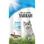 Batoane Bio cu peste, alge marine si spirulina pentru pisici, 3 buc, Yarrah