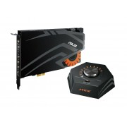 Asus Strix RAID DLX Scheda Audio PCI-Ex per Gaming 124dB SNR DAC ESS ES9016 Controller esterno 7.1 Canali