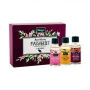 Kneipp Massage Oil confezione regalo olio da massaggio Ylang-Ylang 20 ml + olio da massaggio 20 ml + olio da massaggio Almond blossoms 20 ml donna