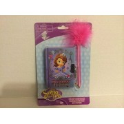 Sofia the First Princess in Training Dairy with Lock & Marabou Pen