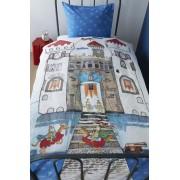 Lenjerie de pat copii Castel Cavaleri