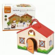 Igracka VIGA kucica farma sa figurama 51618