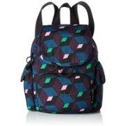 Kipling City Pack Mini Backpack Bold Mirage 10 L Backpack(Multicolor)