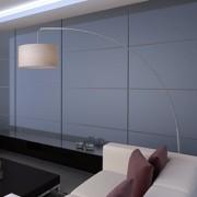 vidaXL Елегантна лампа на стойка от ръчно изработена хартия, цвят крем