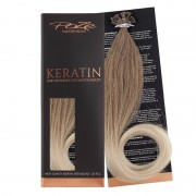 Poze Standard Keratin Extensions Ash Mix Balayage 8A/10NV - 40cm