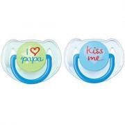 Set suzete ortodontice Philips Avent SCF172/70 fara BPA 6 - 8 luni