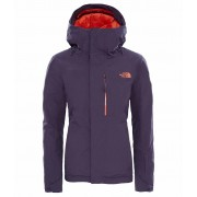 The North Face Womens Descendit Jacket Dark Eggplant Purple The North Face Skidjacka Dam