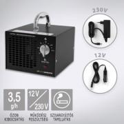 Ózongenerátor Black 3500 12V-os autós csatlakozóval