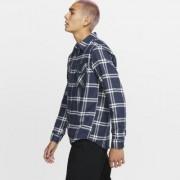 Nike Camisa de manga comprida Hurley Dri-FIT Salinger para homem - Azul