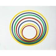 Tornakarika,lapos, flexibilis 40cm-es átmérővel, vegyes színben, pszichomotorikus szettekbe és bóják