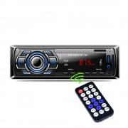 1Din In-Dash Auto Radio Bluetooth Stereo Speler Handsfree AUX-IN USB/Sd-kaart Mp3-speler 12 V Auto Audio Fm Radio