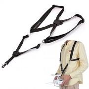 Sellify Shoulder Strap Belt Sling For DJI Inspire 1 Phantom 2&3 Remote Controller Black