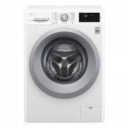 LG Washing mashine F2J5WN4W Front loading, Washing capacity 6.5 kg, 1200 RPM, Direct drive