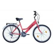 Biketek Oryx női City kerékpár rozé