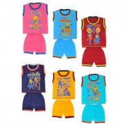 GIRLS TSHIRT PACK OF 6