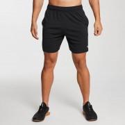 MP Men's Essentials Lightweight Jersey Training Shorts - Black - XXS