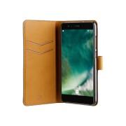 XQISIT Slim Wallet Selection voor Huawei P10 Lite Zwart