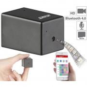 Somikon Micro-HD-Videokamera, Bluetooth, Nachtsicht, Konfiguration per App/USB