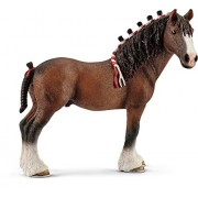 Schleich North America Clydesdale Gelding Toy Figure