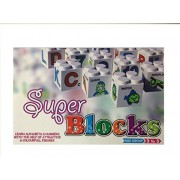 Mom N Baby Super Blocks(Learn Alphabet & Numbers with the help of attractive & Colorful Fifures)