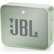 Jblgo2mint Go 2 - Cassa Bluetooth Speaker Altoparlante Portatile Impermeabile Ipx7 Potenza 3 Watt Jack 3.5 Mm Usb Colore Verde - Jblgo2mint