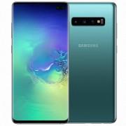 "Samsung Smartphone Samsung Galaxy S10 Plus Sm G975f 128 Gb Dual Sim 6.4"" 4g Lte Wifi 12 + 16 + 12 Mp Octa Core Refurbished Prism Green"
