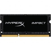 Memorie RAM notebook Kingston, SODIMM, DDR3L, 8GB, 1600MHz, CL9, HyperX Impact, 1.35V