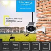 Eight Horses-S Cámara IP inalámbrica de Bala HD 1080P / cámara de Seguridad de vigilancia Impermeable al Aire Libre con Alarma de visión Nocturna y Monitor Remoto con Dispositivo móvil