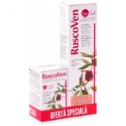 Pachet ruscoven plus 50 cps +ruscoven gel 100 ml gratis 1buc ABOCA