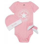 Converse - All Star Infant Set 3 piese, 0-6 luni, Roz