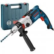 Masina de gaurit cu percutie Bosch - GSB 21-2 RCT, 1300 W, mandrina rapida, 13 mm, protectie suprasarcina, turatie constanta, turatie reglabila, valiza plastic