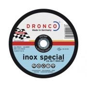 Disc debitare inox Dronco Special Ø180x1,6x22,23 mm