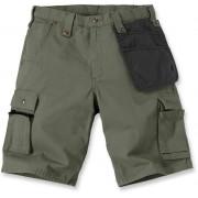 Carhartt Multi Pocket Ripstop Shorts 36 Grön