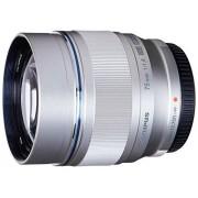 Olympus M.ZUIKO DIGITAL ED 75mm f1.8 (Silver) Lens for and Panasonic Micro 4/3 Cameras