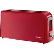 Prajitor de paine Bosch TAT6A004 long slot 1090W 2 felii de paine Rosu