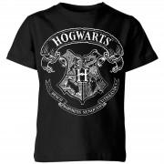 Harry Potter Camiseta Harry Potter Escudo Hogwarts - Niño - Negro - 11-12 años - Negro