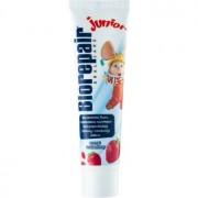 Biorepair Junior pasta de dentes para crianças com sabor de morango 50 ml