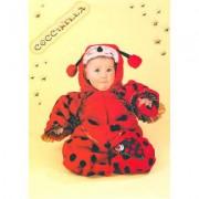 """Costume """"La Coccinella""""' tg. 6/9 mesi"""